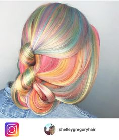 How to do a #colorfulhair transformation for your Las Vegas Wedding with Shelley Gregory So recently I spent a day with L'Oréal Professional Ambassador, Shelley Gregory at the Atelier by Squa…