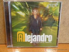 ALEJANDRO PARREÑO. PERDIDO EN EL PARAÍSO. CD / VALE MUSIC - 2002. 10 TEMAS. PRECINTADO.