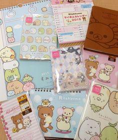 Kawaii, subscription boxes and rilakkuma Japanese Stationery, Kawaii Stationery, Kawaii Shop, Kawaii Cute, Kawaii Subscription Box, Cute Office Supplies, Cute Stationary, Stationary Supplies, Cute Japanese