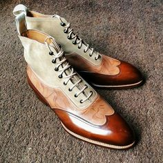 Saint Crispin's ..... Raw Style & Fabulous - someday I will have a reason to have shoes such as these!