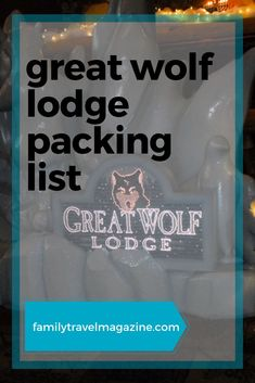 Are you visiting one of the Great Wolf Lodge locations with your kids? You may be wondering what to pack to make your water park visit even better. Check out our Great Wolf Lodge packing list to see what you'll want to include in your suitcase. #greatwolflodge #familytravel Travel With Kids, Family Travel, Spring Break Destinations, Travel Destinations, Spring Break Quotes, Spring Break Party, Great Wolf Lodge, Canadian Travel, Family Cruise