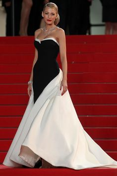 Blake Lively in Gucci at Cannes.