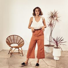 Sustainable Design, Sustainable Fashion, White Linen Trousers, Flax Plant, New Earth, Made Clothing, African Design, Summer Collection, African Fashion