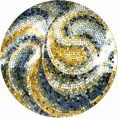 Unique Swirl Mosaic