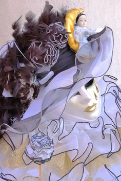Carnival Mask, Venice, by Pierre Chabardes