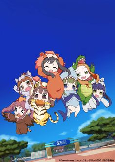 Wake Up Girls spin-off anime to feature them as animals - http://sgcafe.com/2014/08/wake-girls-spin-anime-feature-animals/