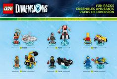 LEGO Dimensions pack #lego #LegoDimensions #videogames #videogame