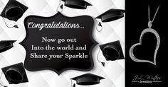 Congratulations 2015 graduates. Share your sparkle with the world! #graduation #quotes