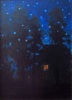 Konstantin KALYNOVYCH - Last Night of Summer, oil, 35x25 cm, 2012