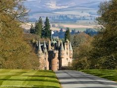 "Glamis Castle - Dundee, Scotland. Setting of Shakespeare's ""Macbeth"""