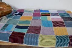 Patchwork Multicoloured Crocheted Handmade Knit Baby Blanket Squares Pram Blanket Handmade Home Decor Retro Duvet Bedding, Bedspread, Linen Upholstery Fabric, Bouquet Home Decor, Knitted Baby Blankets, Bed Duvet Covers, Handmade Home Decor, Hand Crochet, Baby Knitting