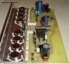BSS elektronika - Hangfrekvenciás erősítő (400W)