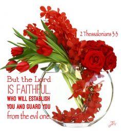 II Thessalonians 3:3