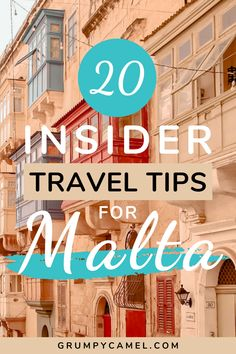 Check out these Malta travel tips from a local, including advice you wouldn't find anywhere else. Learn when's the best time to visit Malta, how to stay safe and healthy, best places to visit and other tips for visiting Malta and Gozo.  #Malta #MaltaTravel #Europe #EuropeTravel #TravelTips #Travel