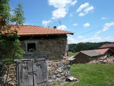 former pigsty, new roof