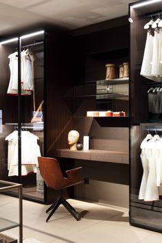 Piero Lissoni reveals new special solutions for closet systems for Porro 2016