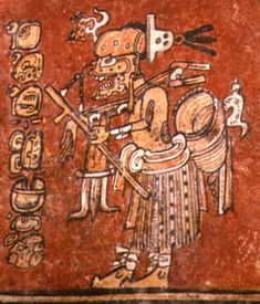 Ah Puch, Mayan god of death