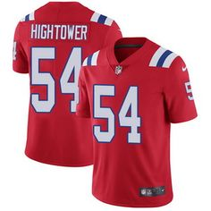 Nike Patriots #54 Dont'a Hightower Red Alternate Men's Stitched NFL Vapor Untouchable Limited Jersey