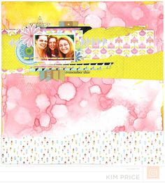 BasicGrey Prism Collection - layout  by Kim Price