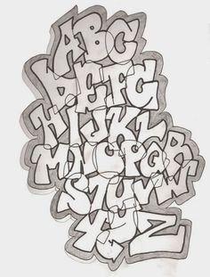 Graffiti Alphabet Styles