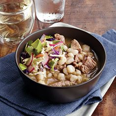 Posole. Posole    You'll love the aroma of cumin, oregano, and gently braised pork that will fill your home as the stew cooks.