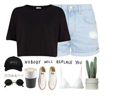 """""""Step//Vampire Weekend"""" by thelonelyheartsclub ❤ liked on Polyvore featuring T By Alexander Wang, Converse, Topshop, River Island, Eva Solo and October's Very Own"""