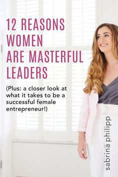 Question: What kind of woman can succeed as an entrepreneur? Answer: Any woman who wants to. You don't need permission. You don't need a certain level of education. Here's what you DO need! ... About harnessing the power of female entrepreneurship, entrepreneur life, and mindset of an online business owner.