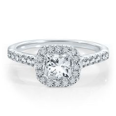Renditions™ By Harout R™ Diamond Semi-Mount Engagement Ring in 14K Gold available at #HelzbergDiamonds