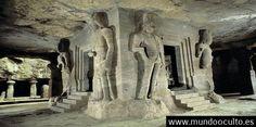 Borrado de la Historia Quien construyó esta antigua cueva con alto sistema de tecnología en China?