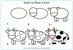 Lots of step-by-step drawing pages for kids