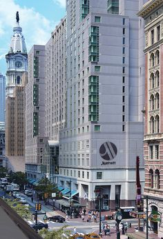 Philadelphia Marriott Downtown, site of the PRSA 2013 International Conference.