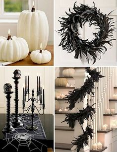 Halloween decorating