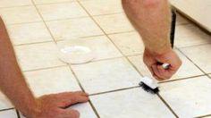 Vyrobte si vlastí čistič na špinavé spáry. Jen ze 2 ingrediencí!