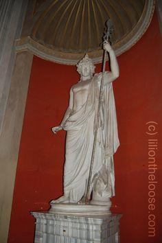 Antinous as Dionysus, Vatican Museum - Rome, Italy