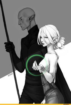 Dragon Age,фэндомы,DAI,DA персонажи,Инквизитор (DA),Солас,Nipuni