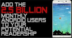Self published author? Add the billion daily Android users to your potential market with features not available in eBooks or on the Kindle or on any other e-published format. Self Publishing, Resume, Android, Author, Entertainment, Ads, Marketing, Writers, Cv Design