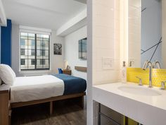 These hotel rooms may be small, but they're big on style and efficient design. Tour 10 chic micro hotels to put on your radar for your next urban getaway.