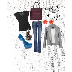 Date night in Town, created by caitie-barrett on Polyvore