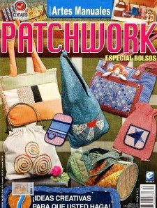 Patchwork magazine with many good ideas and patterns for appliqué Special issue: Bags Bag Patterns To Sew, Quilt Patterns, Sewing Patterns, Crafts To Make, Diy Crafts, Sewing Magazines, Fabric Boxes, Book Quilt, Bargello