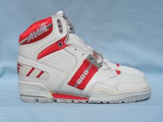 Avia 868MF. DS from the 1980s with very minor defects from age in their Original box size 8.5. The Avia 868MF in the White/Fire Red colorway. As you can see from the pictures they are in Great shape. | eBay!