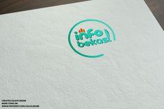 Final Logo yang dipilih untuk situs infobekasi.co.id