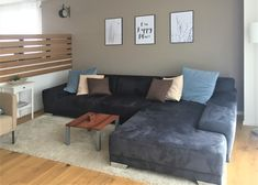 Wohnzimmer nach Umgestaltung Modern, Couch, Furniture, Home Decor, Environment, Oak Tree, Living Room, Homes, House