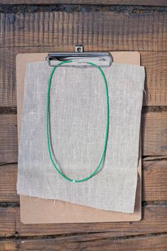 Green Glass seed bead Necklace