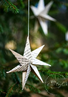Paper star - Scandinavian DIY star ornament