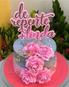 Birthday Cake Roses, Cute Birthday Cakes, 31st Birthday, Beautiful Birthday Cakes, Fresh Mint Tea, Celebrate Good Times, Cake Pictures, Bakery Recipes, Happy B Day