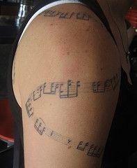 Music Notes Tattoos Art
