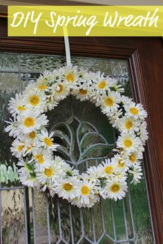 Fun with the Fullwoods: DIY Spring Wreath
