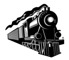 Train Illustration, Simple Illustration, Steam Logo, Train Vector, Christmas Face Painting, Train Art, Vanishing Point, Train Pictures, Fantasy Drawings