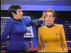 Oh my gosh...I never knew this existed. Carol Burnett and Star Trek. If only Harvey Korman had been the Klingon....