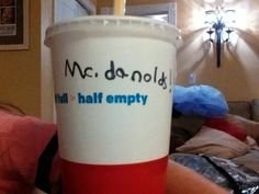 Today i went to McDonald's then i found this on my cup